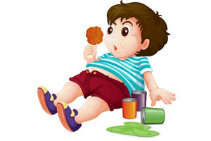 infancy bad diet begin